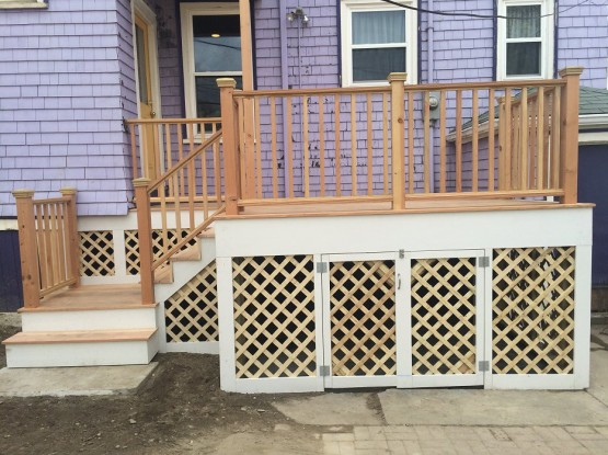 Dorchester Deck Tear Down & Rebuild