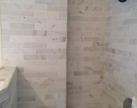 Tile Standup Shower in Charlestown