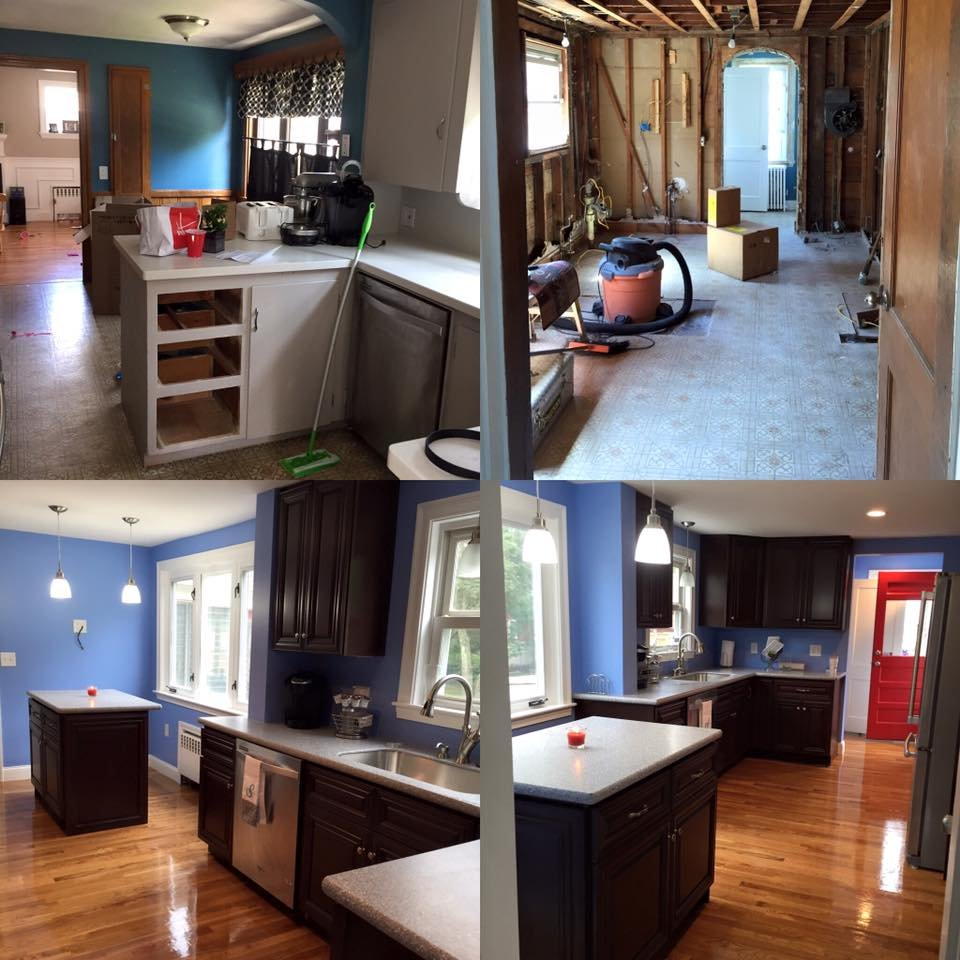 Kitchen Remodel Rockland Ma Henry Scopa Home Improvements