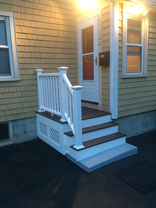 Small Deck in Rockland
