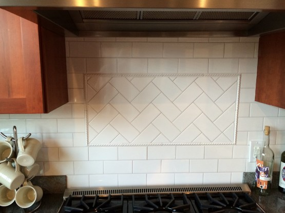 Tiled Backsplash South End