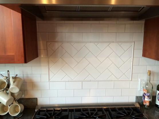 Tiled Backsplash South End