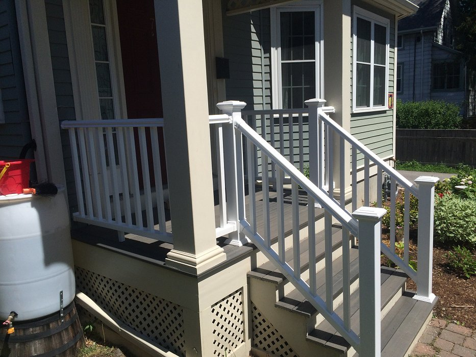 Deck repair posts and handrail henry scopa home improvements for Balcony repairs