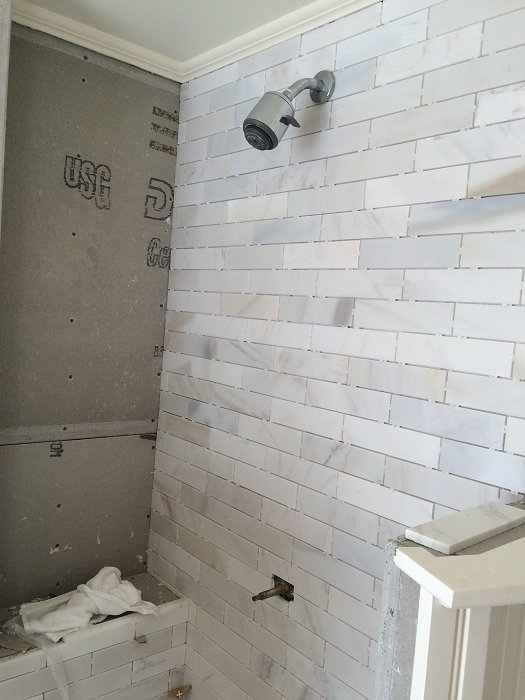 Tile Standup Shower in Charlestown | Henry Scopa Home Improvements