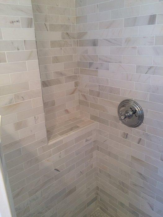Tile Standup Shower in Charlestown