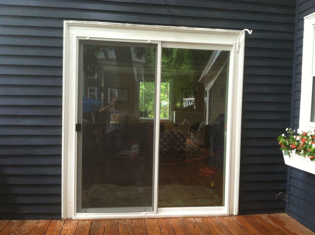 Exteriors Replace Sliding Door Screen Saugus Henry
