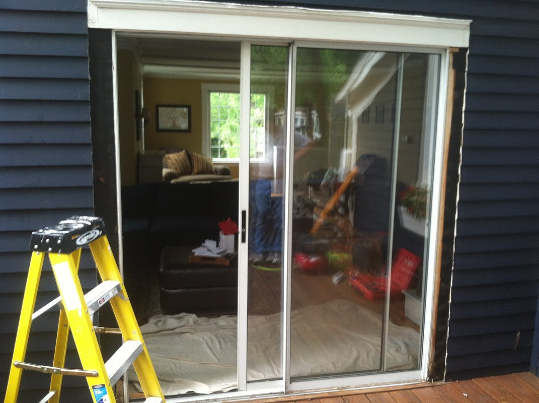 Sliding glass door replace garage door with sliding glass for Sliding patio door replacement