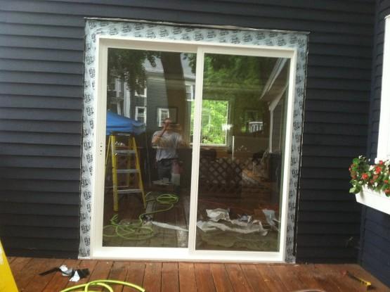 Home Portfolio Exteriors Replace Sliding Door Screen Saugus