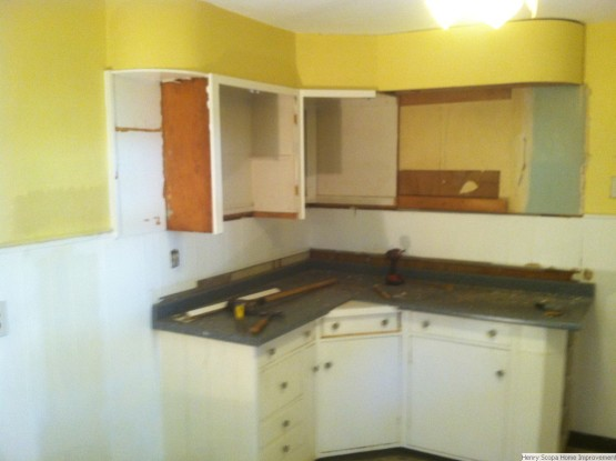 Kitchen Demo Remodel Weymouth