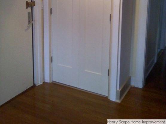 Flooring: Extend a Closet, Beacon Hill