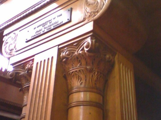 Refurbished Library Columns Malden