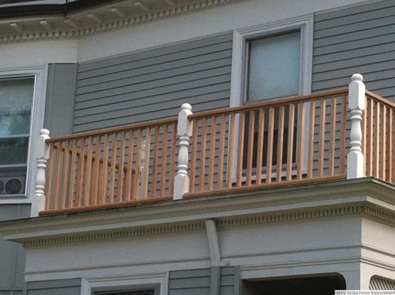 Second Floor Porch Melrose