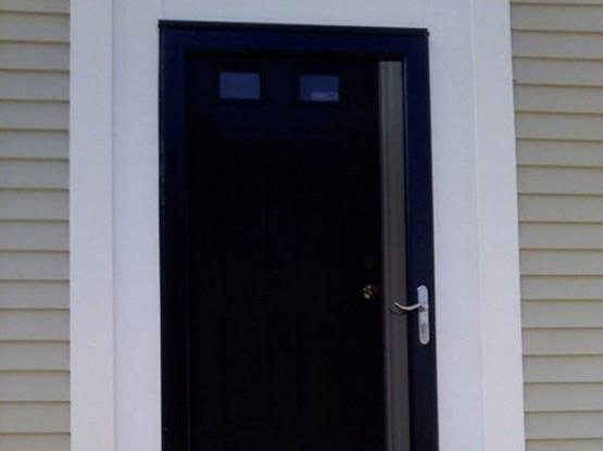 Exteriors: Adding a Screen Door, South Boston