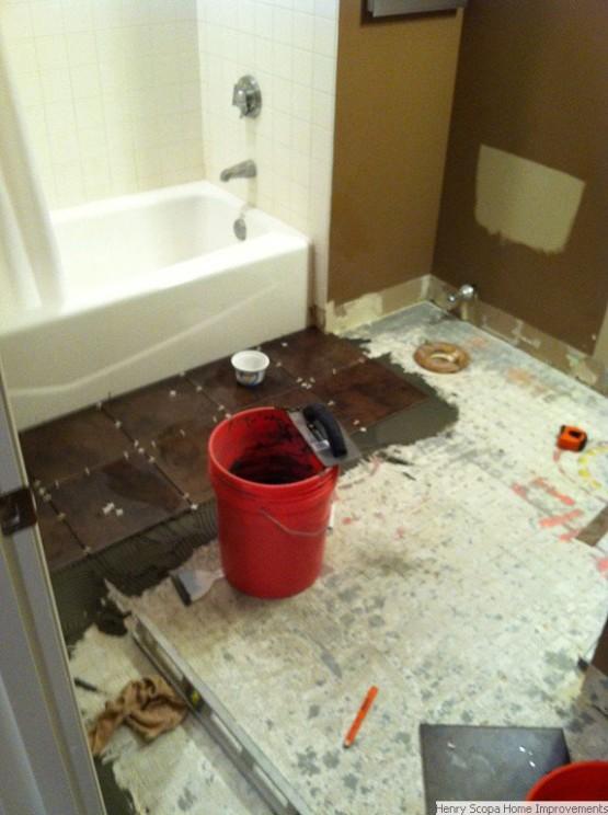 Flooring Tiling Bathroom Floor South End
