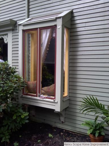 Bay window installation milton henry scopa home improvements for Bay window installation