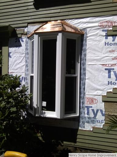 Bay window installation milton henry scopa home improvements for What to put in front of a bay window